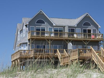Remodeled and Beautifully Decorated Oceanfront Duplex