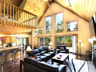 Photo for Stunning views and fun at brand new home on Eagle River Chain (Catfish Lake)