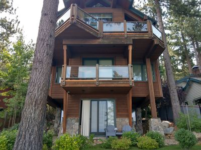 Photo for LAKE FRONT HOME WITH SUPER VIEWS, Lake Tahoe Nevada