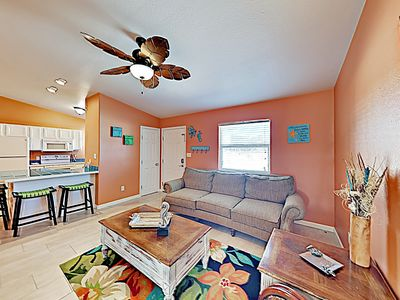 Photo for New Listing! Costa Del Rey All-Suite w/ Pool, Walk to Beach & Dining