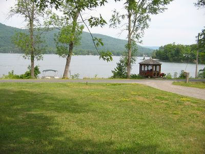 Photo for Charming lakeside cottage on Northern Lake George..