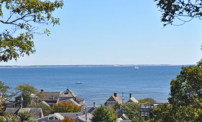 Photo for Waterviews from all floors. Secluded luxury, Close to the bay beach & town cntr.