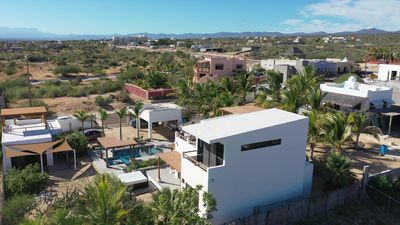 Areal view of Casa Torote with spectacular ocean views