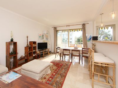 Photo for Apartment 1.2 km from the center of Cannes with Lift, Parking, Internet, Washing machine (261847)