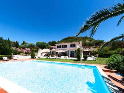 Photo for Villa With Private Pool and Sea Views - Sleeps 12-15 - 6 Bedrooms 5 Bathrooms