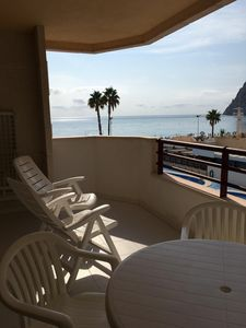 Photo for One bedroom apartment in Levante or La Fossa beach in Calpe, Alicante
