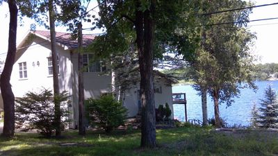 Photo for Beautiful Lakefront House one mile from Michigan International Speedway
