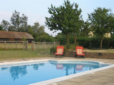 Photo for Vacation home Brook Farm Barn in Tenterden - 2 persons, 1 bedrooms