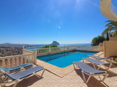 Photo for Villa with pool and sea views - MAR27