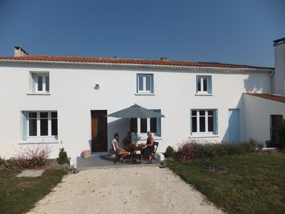 Photo for Large House Between Talmont And Mortagne Sur Gironde With Views On Estuary