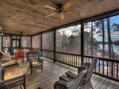 Photo for Cottage on Lake Blue Ridge w/ Dock~Family Favorite~12 Mins to Downtown Blue Ridge