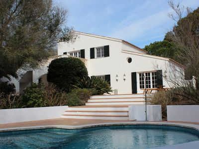 Photo for Secluded Villa with Bedroom AirCon, Private Pool, Large Sun Terrace and Garden