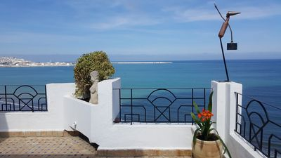 Photo for App. Exceptional 220m2 on the beach + 110m2 terrace. comfort