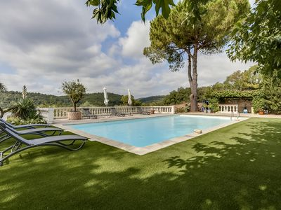 Photo for VALBONNE SOMPTUOUS VILLA WITH MAGNIFICENT VIEW