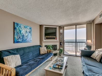 Photo for Waterpointe I 703 - Wonderful Oceanfront 2 Bedroom Condo