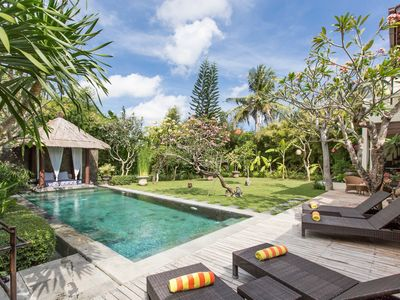 Photo for 3Bed Villa w/ Lush Garden Near Seminyak;