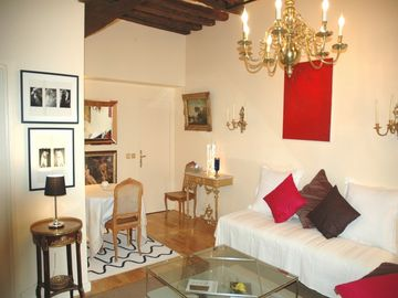 Paris - Place ~des~ Vosges - 17th Century 1 Bedroom Apartment