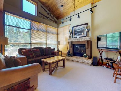 Photo for NEW LISTING! Townhouse near the slopes with shared heated pool & hot tubs