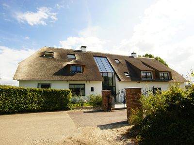Photo for The ground floor of a beautifully converted luxury farmhouse!