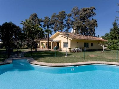 Photo for Beautiful, large family villa with WIFI, Short walk to the beach and close to Puerto Banus