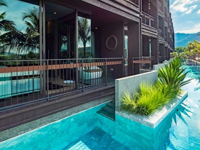 Photo for 1 BDR Pool Access Apartment 5 Min Drive to Nai Harn Beach