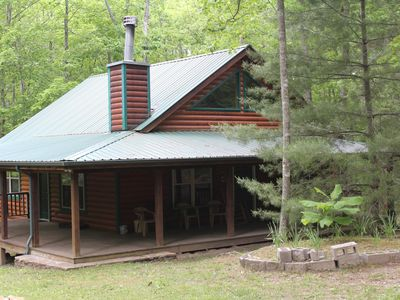 Photo for Beautiful Log Cabin 4 Horse Stalls & 2 Corrals, Big South Fork National Park.