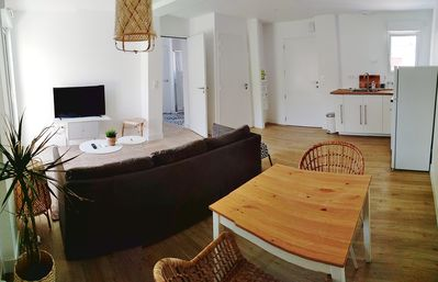 Photo for T2 apartment for 4 people with large terrace