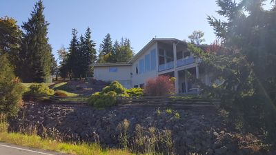 Photo for Beautiful Custom Home with views of the Straits  of Juan de Fuca and Sequim