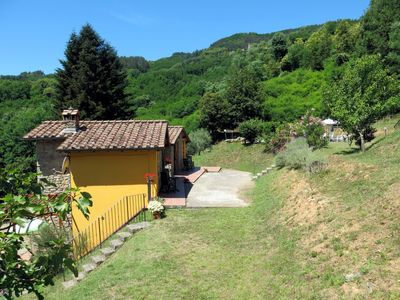 Photo for Vacation home Le Capanne (BLU201) in Bagni di Lucca - 4 persons, 1 bedrooms