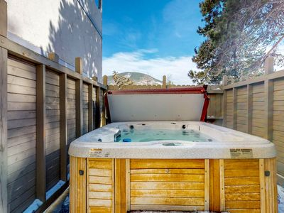 Photo for NEW LISTING! Updated creekside condo w/ private sauna & patio - shared hot tub