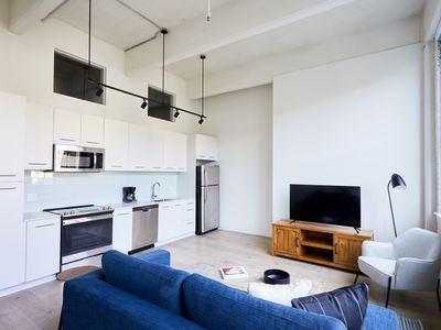 Photo for Sonder | Museum District | Sunny 1BR + Kitchen