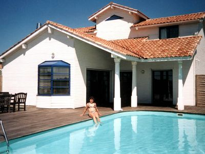 Photo for villa with private swimming pool, 900m from the beach