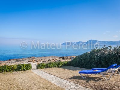 Photo for Xubec: Ground floor in Son Serra with garden and direct access to the sea.