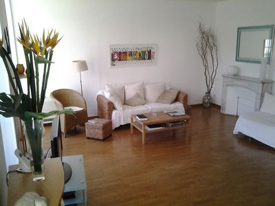 Photo for Very large modern 3 bed flat in heart of Nice, children welcome