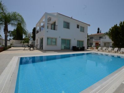 Photo for BLUE SEA VILLA - 4 Bed with Pool - Protaras