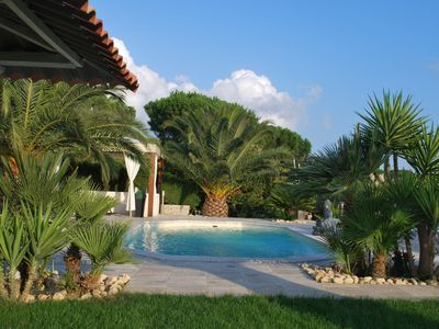 Photo for CHARMING VILLA WITH POOL IN ST ANNE