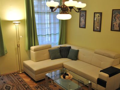 Photo for Cozy two bedroom apartment of to Wenceslav squer