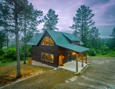 Photo for New Bear Country - 2 Masters (Couples or Family View Cabin,Up To 6,Hot Tub)