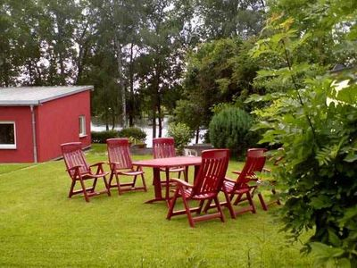 Photo for Cottage directly on the lake with boat to 6 pers., Many mushrooms, fishing area, swimming