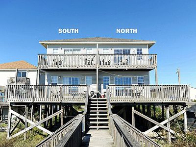 Photo for Gimme Shelter - Stunning Oceanfront Duplex, Families and Pets Welcome!