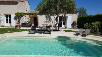 Photo for Superb villa with pool Alpilles