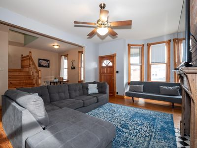 Photo for Short North Modern Home with Balcony & Jacuzzi