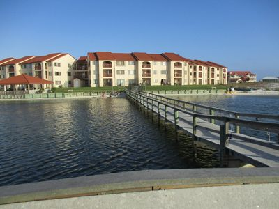 Sunset Harbor condos- water view, fishing pier, private beach on quiet sound
