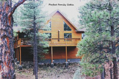 LUXURY FAMILY CABIN OFF ROAD WITH PRIVACY!