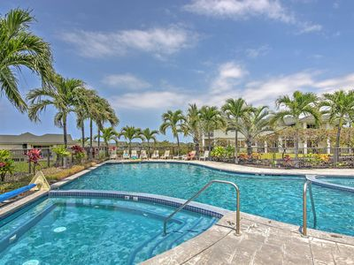 Photo for Kona Resort Townhome w/Ocean Views-1 Mi. to Beach!