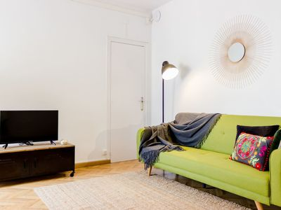 Photo for Spacious 2bed/3bath design apartment in Eixample