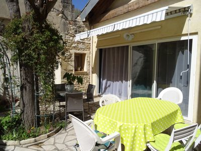 Photo for Village house in small Camargue, 15 minutes from beaches, prox. Dead Acute