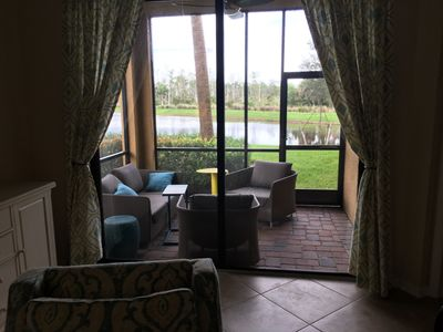 Photo for Treviso Bay Two Bedroom, Two Bath Condo with den with sleeper couch
