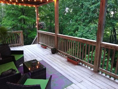 Photo for Spacious Mountain Getaway near Natl Forest, B.R. Parkway and Beautiful Asheville