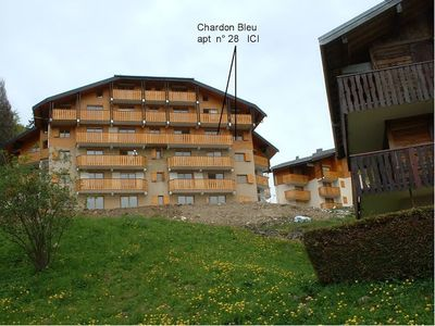 Photo for COL-CHAR-28: 3 rooms with magnificent views of the mountains